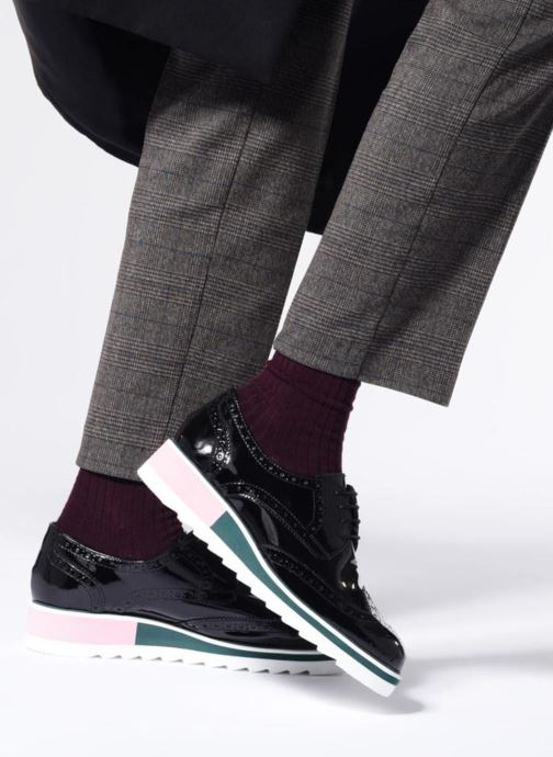 Noir À Chaussures Lacets Cosmoparis Vallea 3L5ARj4