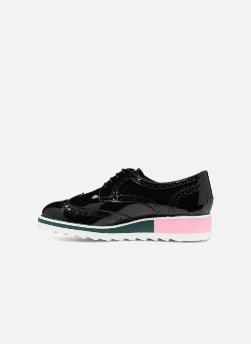 Lace-up shoes COSMOPARIS VALLEA Black front view