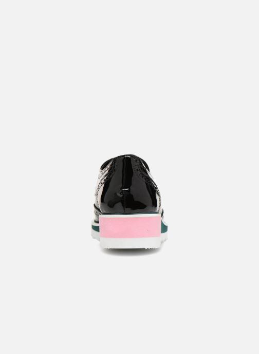 Zapatos con cordones COSMOPARIS VALLEA Negro vista lateral derecha