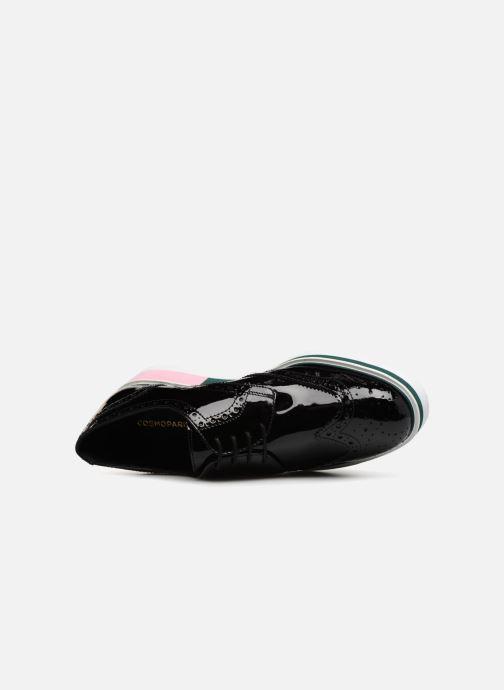 Zapatos con cordones COSMOPARIS VALLEA Negro vista lateral izquierda