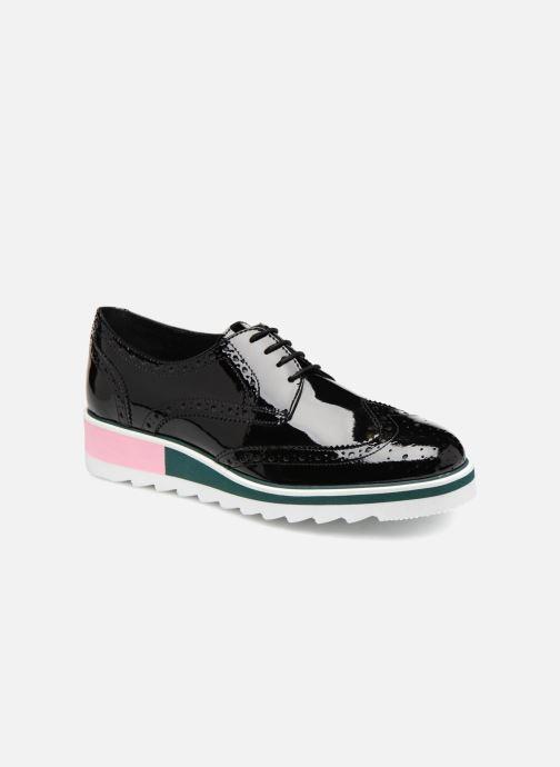 Zapatos con cordones COSMOPARIS VALLEA Negro vista de detalle / par