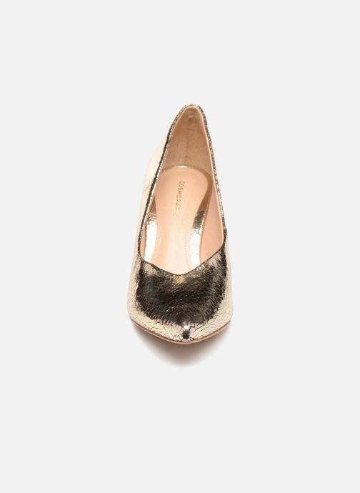 Escarpins COSMOPARIS ALIZEE/CR Or et bronze vue portées chaussures