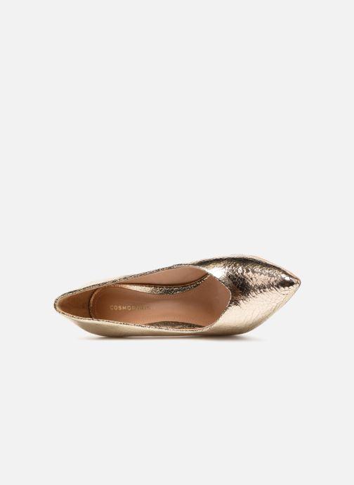 Zapatos de tacón COSMOPARIS ALIZEE/CR Oro y bronce vista lateral izquierda