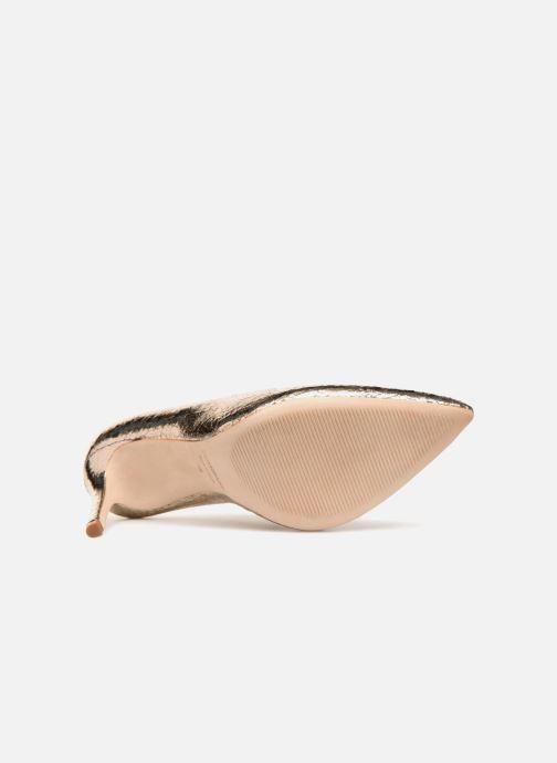 Zapatos de tacón COSMOPARIS ALIZEE/CR Oro y bronce vista de arriba