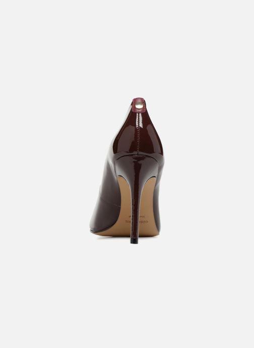 Zapatos de tacón COSMOPARIS JELISSA/VER Vino vista lateral derecha