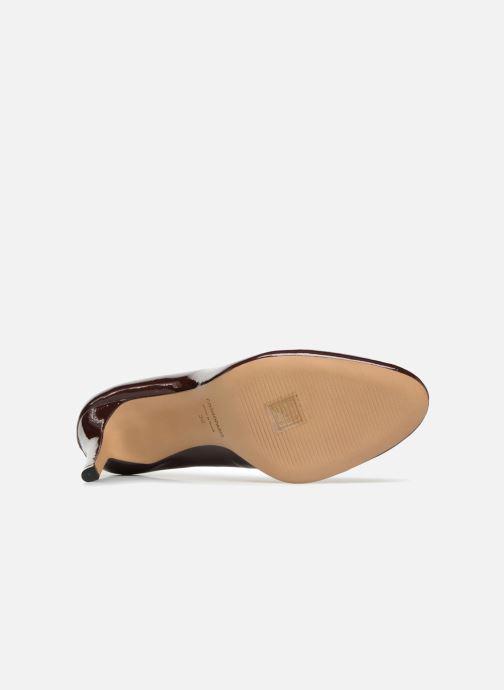 Zapatos de tacón COSMOPARIS JELISSA/VER Vino vista de arriba