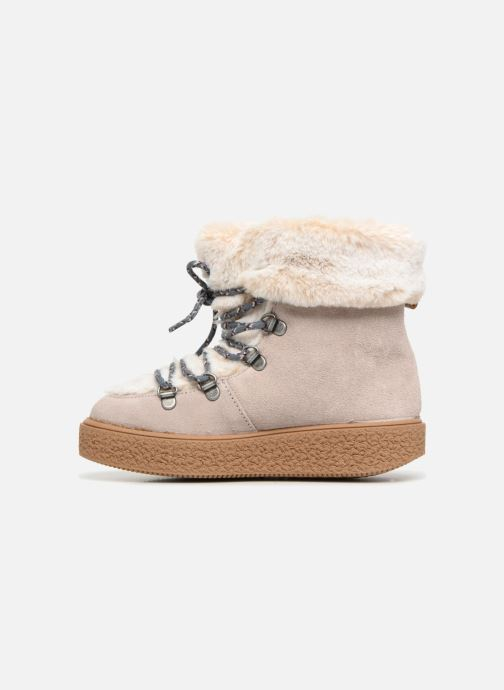 Chaussures de sport Victoria Bota Apreski Serraje Beige vue face