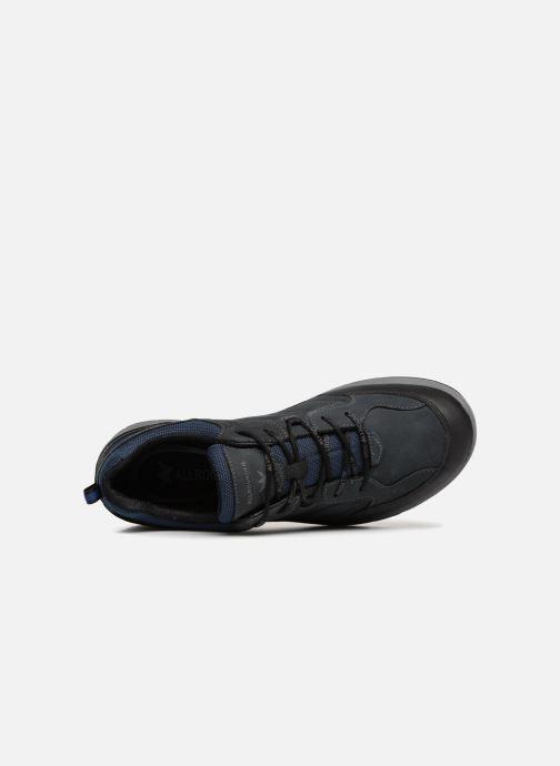 Zapatillas de deporte ALLROUNDER Caletto Tex Azul vista lateral izquierda