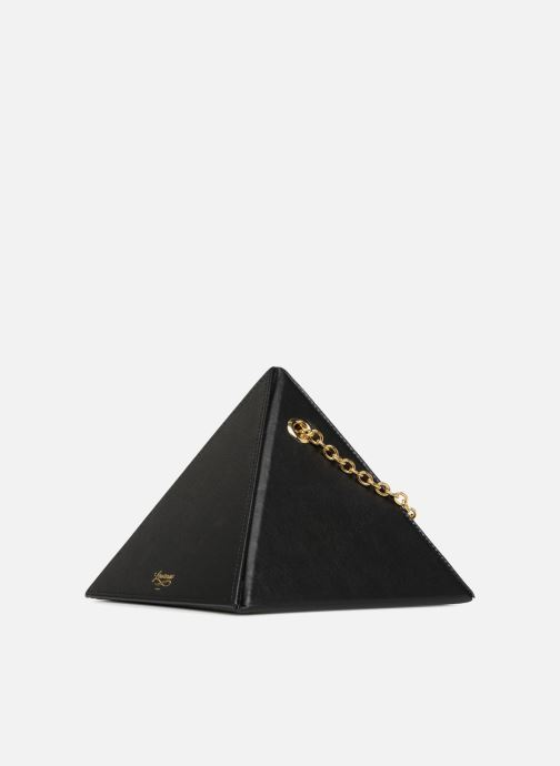 Handbags Louvreuse CLEO Black model view
