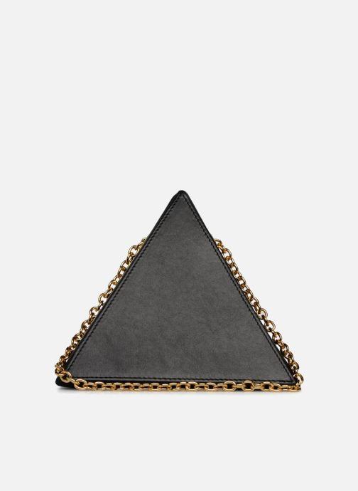 Handbags Louvreuse CLEO Black front view