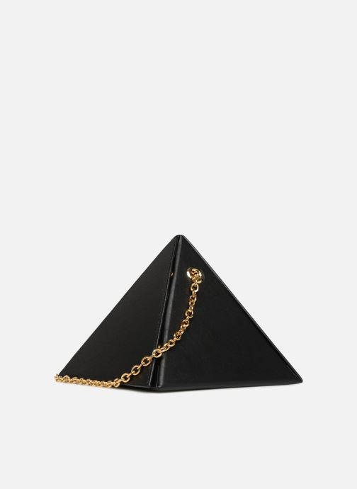 Bolsos de mano Louvreuse CLEO Negro vista lateral derecha