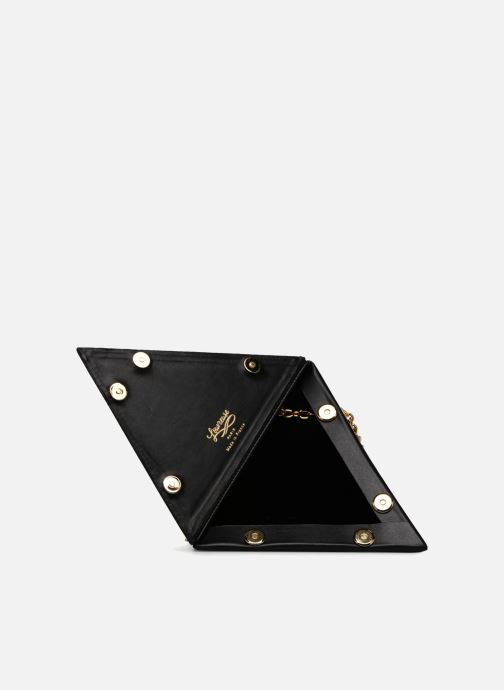 Handbags Louvreuse CLEO Black back view