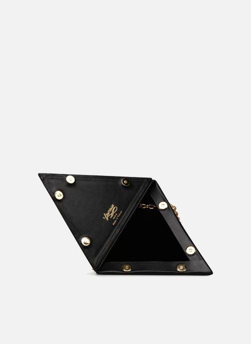 Handtassen Louvreuse CLEO Zwart achterkant