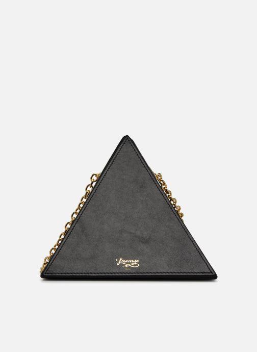 Handtassen Louvreuse CLEO Zwart detail