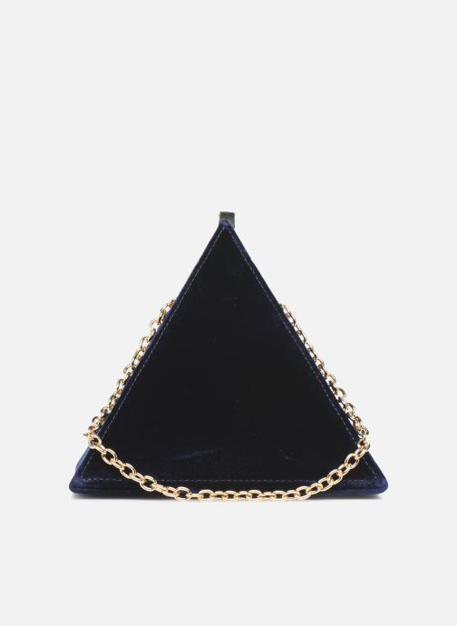 Handbags Louvreuse CLEO Blue front view