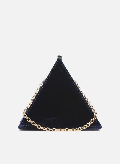 Handtaschen Louvreuse CLEO blau ansicht von vorne