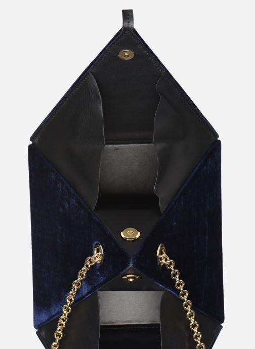 Handbags Louvreuse CLEO Blue back view