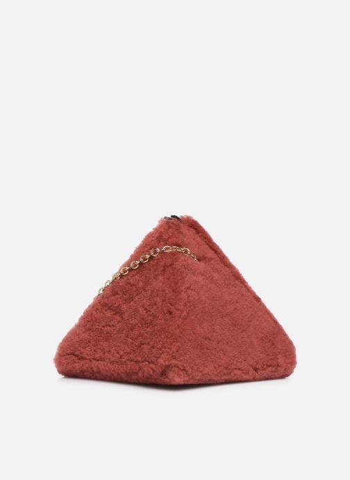 Sacs à main Louvreuse CLEO Rouge vue portées chaussures