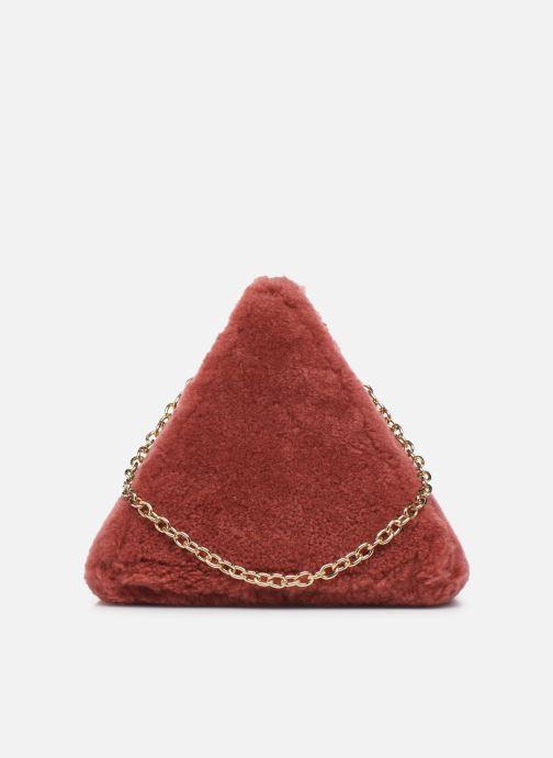 Handtaschen Louvreuse CLEO rot ansicht von vorne