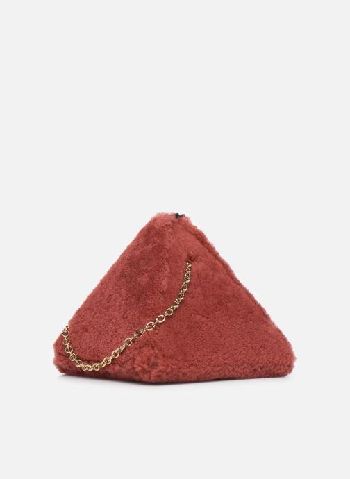 Handtaschen Louvreuse CLEO rot ansicht von rechts