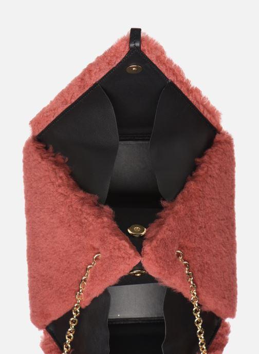 Sacs à main Louvreuse CLEO Rouge vue derrière