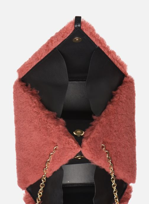Bolsos de mano Louvreuse CLEO Rojo vistra trasera