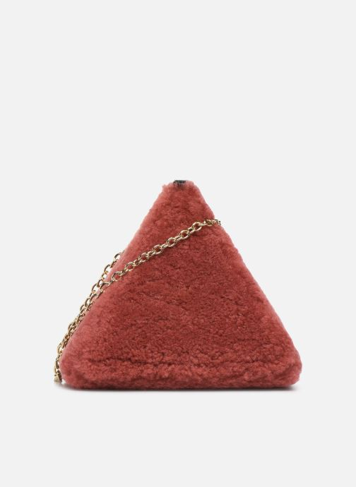 Bolsos de mano Louvreuse CLEO Rojo vista de detalle / par