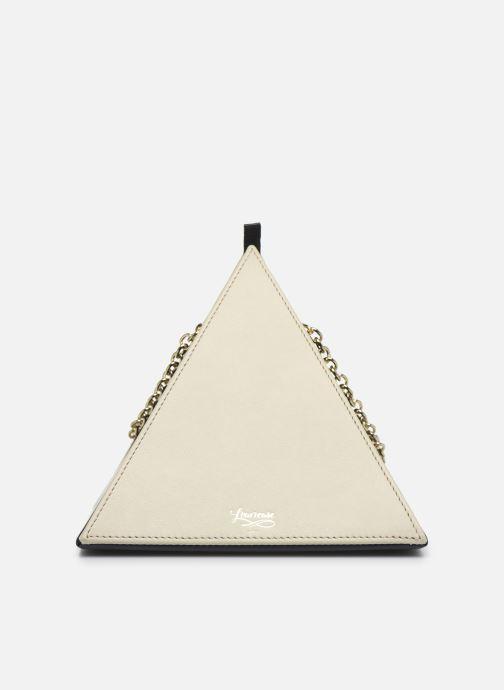 Handtaschen Louvreuse CLEO beige schuhe getragen