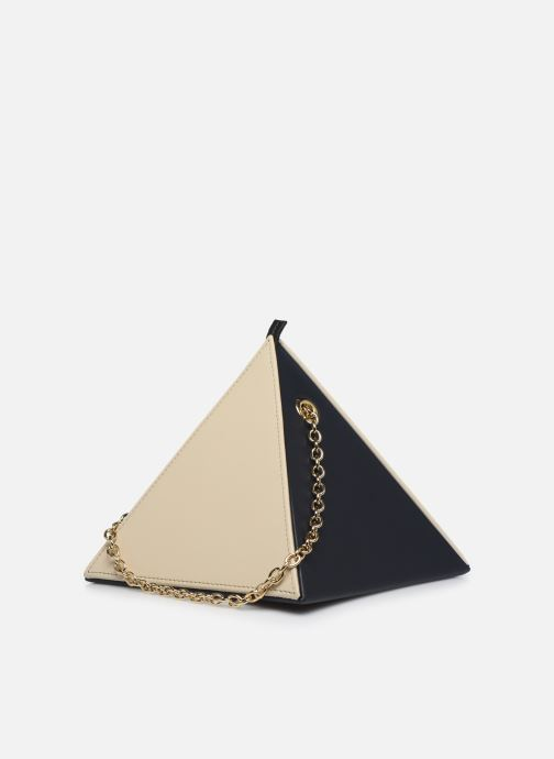 Handtaschen Louvreuse CLEO beige ansicht von vorne