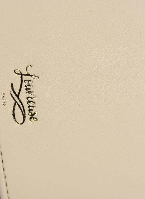 Bolsos de mano Louvreuse CLEO Beige vista lateral izquierda