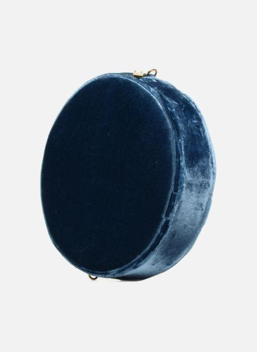 Sacs à main Louvreuse KASIMIR MINI Bleu vue droite