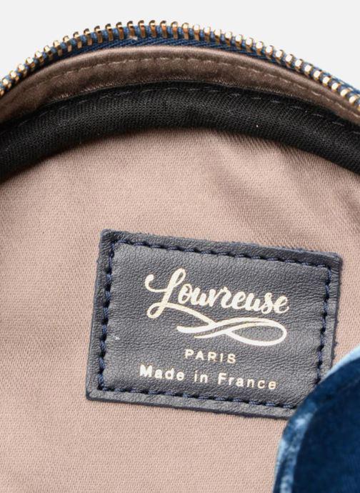 Sacs à main Louvreuse KASIMIR MINI Bleu vue derrière
