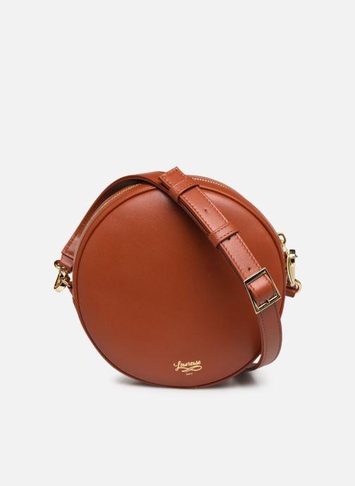 Handtaschen Louvreuse KASIMIR MINI braun ansicht von vorne