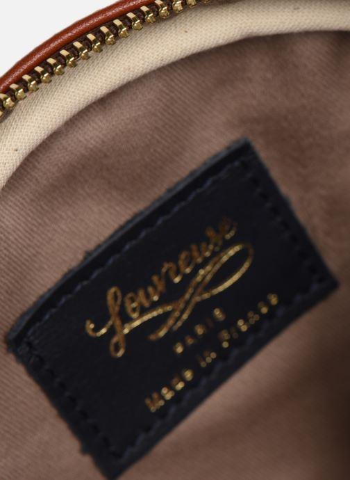 Handtaschen Louvreuse KASIMIR MINI braun ansicht von hinten