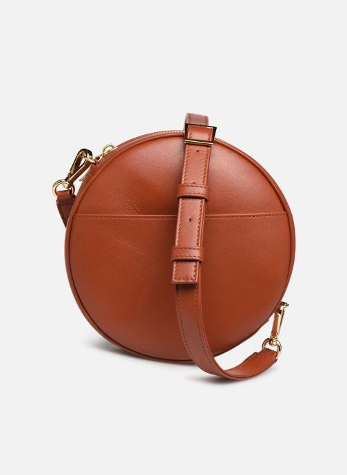 Handtaschen Louvreuse KASIMIR MINI braun detaillierte ansicht/modell