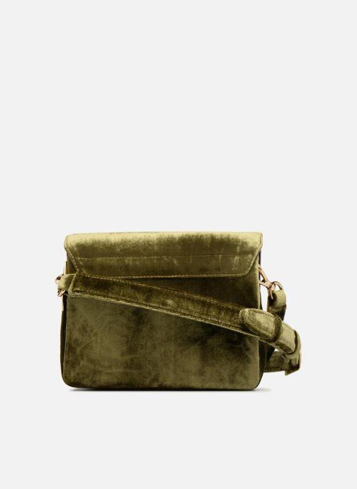 Handtaschen Louvreuse EUGENE grün ansicht von vorne