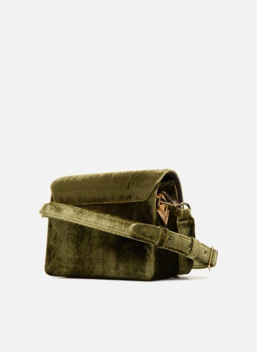 Handtaschen Louvreuse EUGENE grün ansicht von rechts