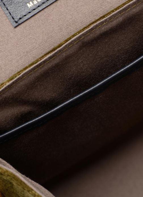 Handtassen Louvreuse EUGENE Groen achterkant