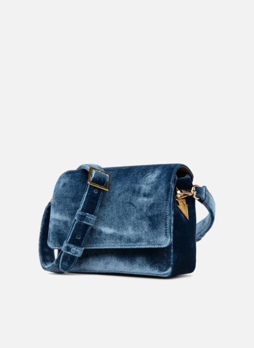 Handtassen Louvreuse EUGENE Blauw model