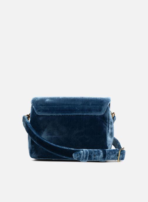 Handtassen Louvreuse EUGENE Blauw voorkant