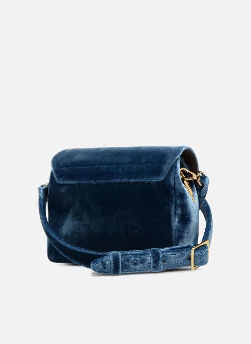 Sacs à main Louvreuse EUGENE Bleu vue droite