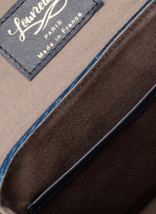 Handtassen Louvreuse EUGENE Blauw achterkant