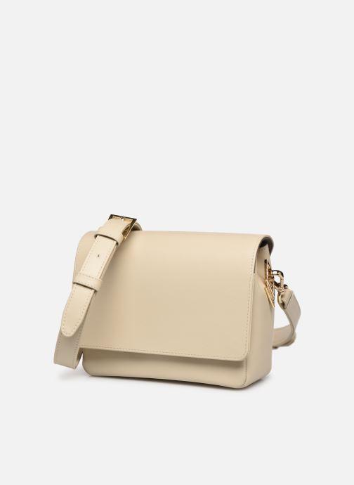 Handtaschen Louvreuse EUGENE beige schuhe getragen