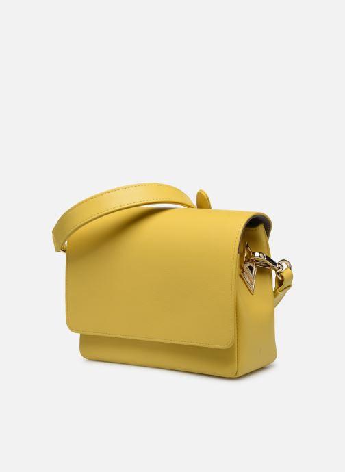 Bolsos de mano Louvreuse EUGENE Amarillo vista del modelo