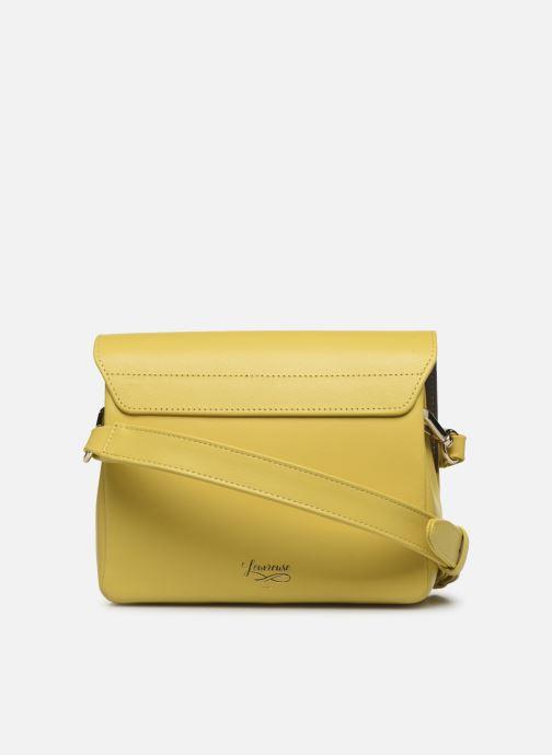 Handtaschen Louvreuse EUGENE gelb ansicht von vorne