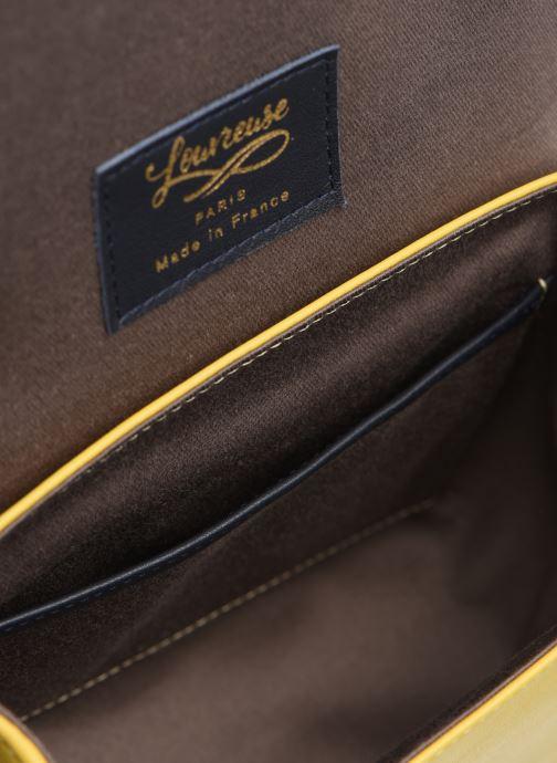 Bolsos de mano Louvreuse EUGENE Amarillo vistra trasera