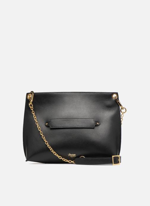 Handbags Louvreuse MILO Black front view