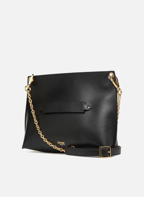 Handbags Louvreuse MILO Black view from the right