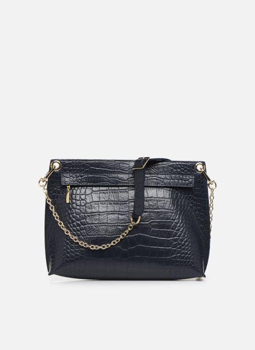 Handbags Louvreuse MILO Blue front view