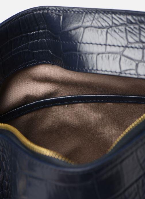 Handtaschen Louvreuse MILO blau ansicht von hinten